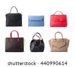 group of color women leather... | Shutterstock . vector #440990614