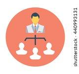 leader vector icon | Shutterstock .eps vector #440993131