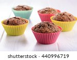 Chocolate Muffins With Sugar...