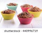 Chocolate Muffins With Sugar...