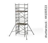 3d render of construction... | Shutterstock . vector #44100523