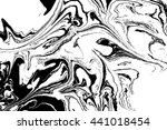 hand drawn marbling...   Shutterstock . vector #441018454