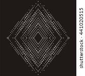 Brilliant Stones Rhomb Pattern...