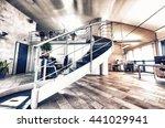 modern office. success and... | Shutterstock . vector #441029941