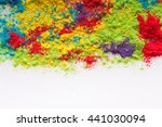 colored powder  abstract... | Shutterstock . vector #441030094