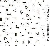 raster image geometric pattern... | Shutterstock . vector #441031879