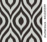 faux tribal weave pattern... | Shutterstock .eps vector #441035599