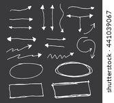 arrow marker set | Shutterstock .eps vector #441039067