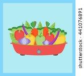 vegetable in pot | Shutterstock .eps vector #441076891