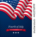 fourth of july independence day | Shutterstock .eps vector #441076999