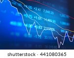 stock market chart. business