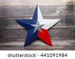 the star of the texas flag... | Shutterstock . vector #441091984