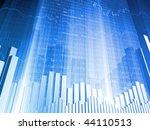 stock indicators and bar charts | Shutterstock . vector #44110513
