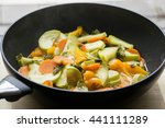 Vegeterian Food  Ragout With...