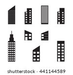 office building icon | Shutterstock .eps vector #441144589
