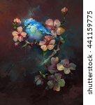 blue bird | Shutterstock . vector #441159775