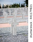 Small photo of Zeitenlik Allied cemetery , Graves on Zeitenlik Allied cemetery in Thessaloniki