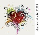 heart | Shutterstock .eps vector #44119225