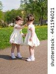 beautiful twins | Shutterstock . vector #441196021