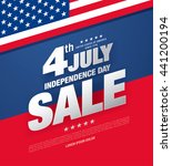 fourth of july. independence... | Shutterstock .eps vector #441200194
