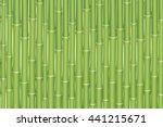 exotic horizontal seamless... | Shutterstock .eps vector #441215671