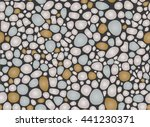 pebbles pattern seamless... | Shutterstock .eps vector #441230371