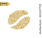 gold glitter vector icon of the ... | Shutterstock .eps vector #441247735