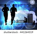 sport vector illustration | Shutterstock .eps vector #441264319