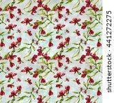 watercolor seamless pattern... | Shutterstock . vector #441272275