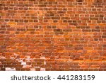 old red brick texture | Shutterstock . vector #441283159
