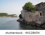 st. stefan island  montenegro | Shutterstock . vector #44128654