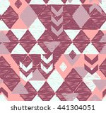 cool sketched and textured geo... | Shutterstock .eps vector #441304051