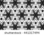 picture with black and white... | Shutterstock . vector #441317494