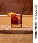 craft cocktail hour at the... | Shutterstock . vector #441322057