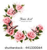 holiday background with beauty... | Shutterstock .eps vector #441330064