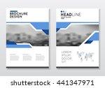 annual report vector...   Shutterstock .eps vector #441347971