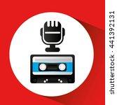 retro music design    Shutterstock .eps vector #441392131