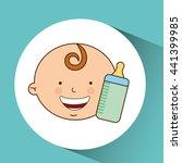 happy kids design  | Shutterstock .eps vector #441399985