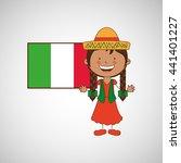 children around the world...   Shutterstock .eps vector #441401227