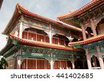 chinese temple in thailand | Shutterstock . vector #441402685