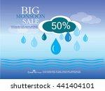 sale banner or poster of... | Shutterstock .eps vector #441404101