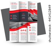 brochure design  business... | Shutterstock .eps vector #441412849