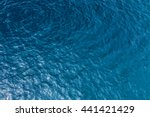 sea surface aerial view | Shutterstock . vector #441421429