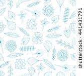 seamless white background... | Shutterstock .eps vector #441431791