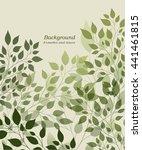 beautiful abstract light... | Shutterstock .eps vector #441461815