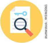 find keyword vector icon | Shutterstock .eps vector #441462061