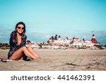 Photo Of Girl At Coronado Beac...
