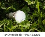 led bulbs are environmentally... | Shutterstock . vector #441463201