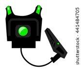 laser game laser tag equipment  ...   Shutterstock .eps vector #441484705