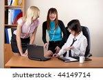 businessteam  from three... | Shutterstock . vector #44149714